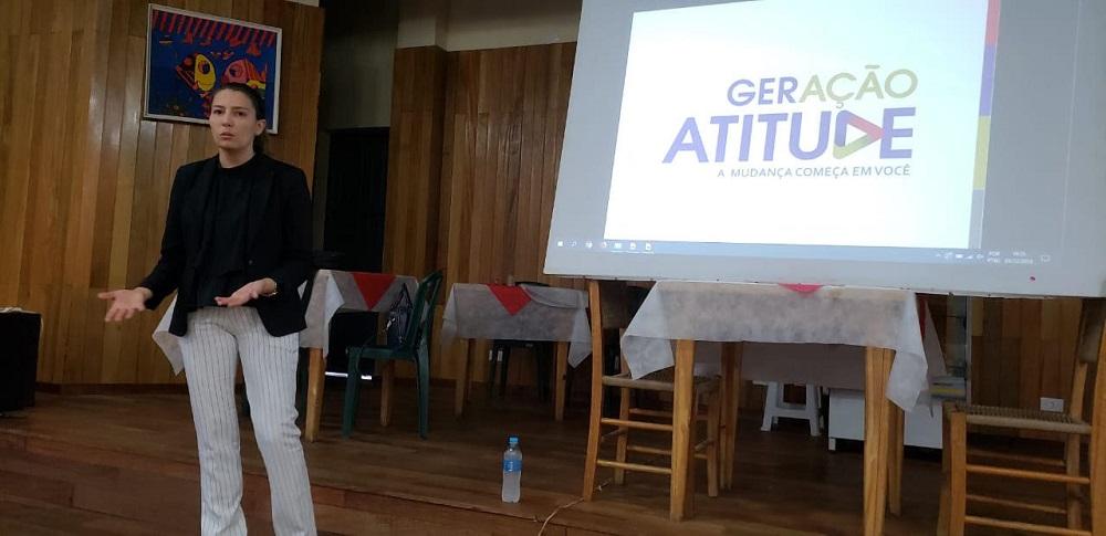 Promotora iniciou o movimento 'Geração Atitude' em colégios de São Mateus do Sul