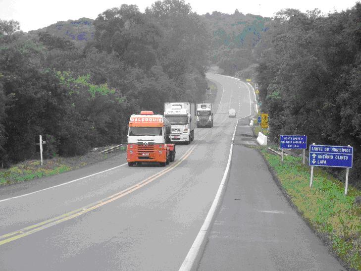Número de acidentes cai 25% nas rodovias federais do Paraná