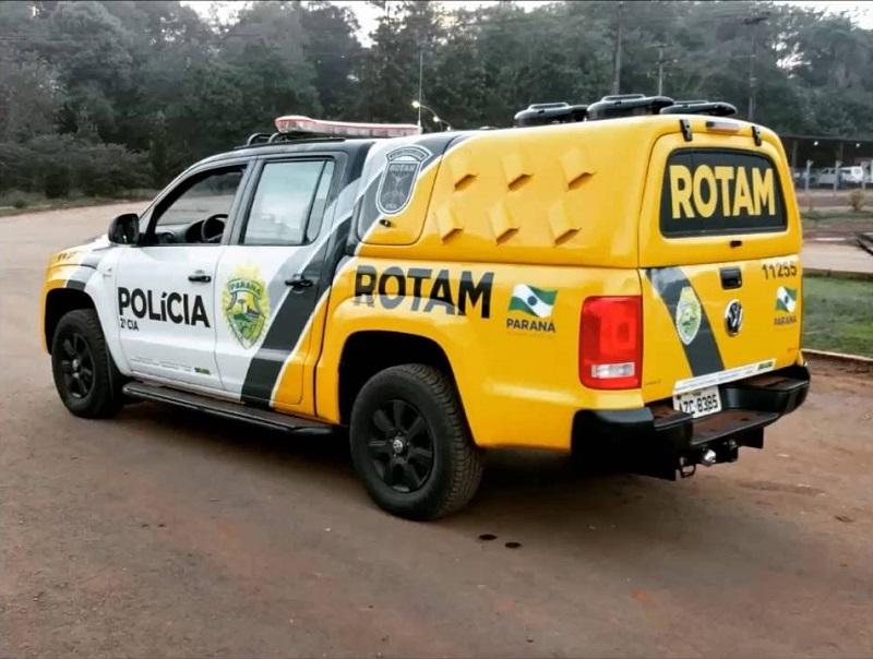 Trio é preso por ROTAM na madrugada deste Sábado