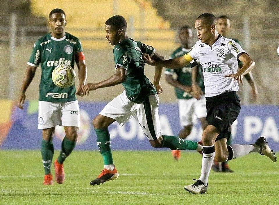 Palmeiras perde para o Figueirense e dá adeus à Copinha