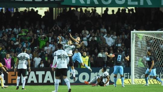 Rodrigão perde pênalti, e Coritiba fica no empate sem gols com o Londrina