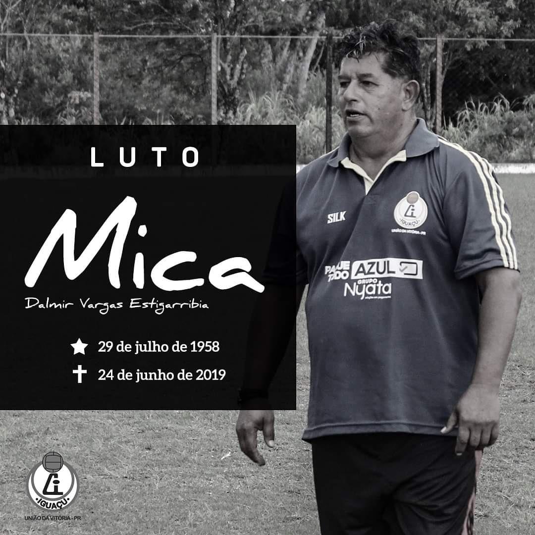 Morre atleta ídolo do Iguaçu e atual preparador de goleiros do time de União da Vitória Sub 17