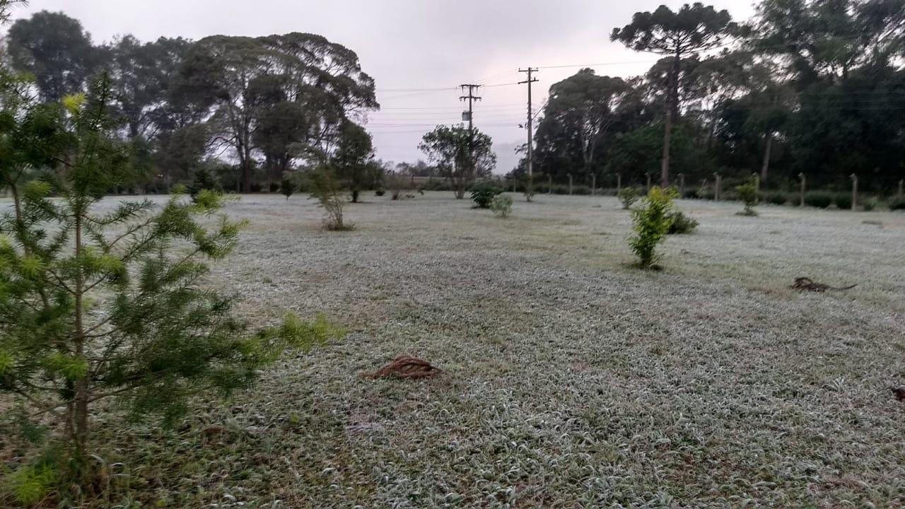 Final e início de semana será gelado no Paraná