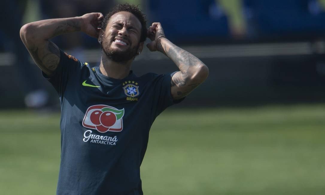 Neymar é cortado da Seleção após sofrer lesão durante amistoso contra o Catar