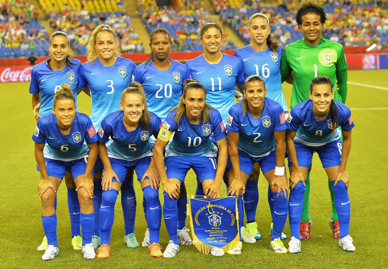 Na França, Brasil tenta coroar geração de ouro com título da Copa do Mundo Feminina