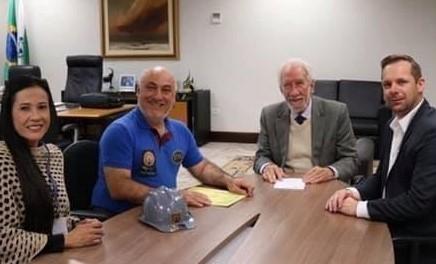 Vice-governador recebe Márcio Assad e proposição com viés turístico ao PR