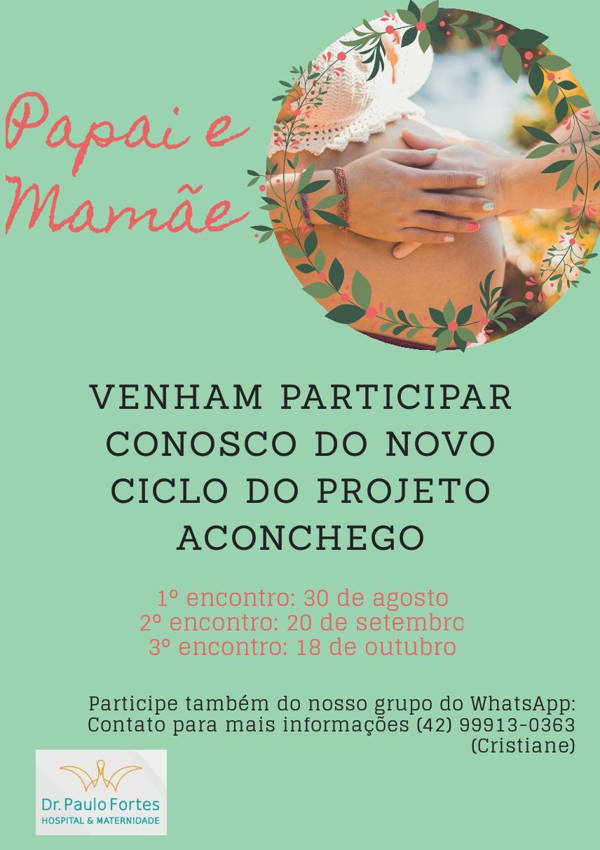 Ação promovida pelo Hospital Paulo Fortes visa dar o suporte para cuidados com os filhos