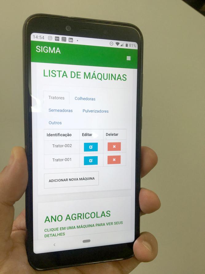 Iapar e startup criam plataforma para gestão de máquinas agrícolas