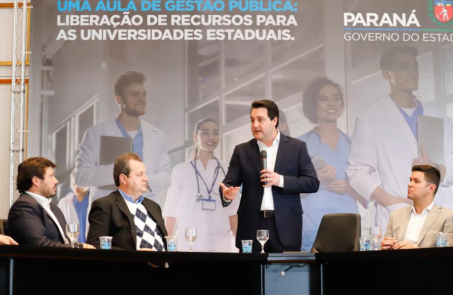 Governador anuncia R$ 130 milhões para as universidades estaduais