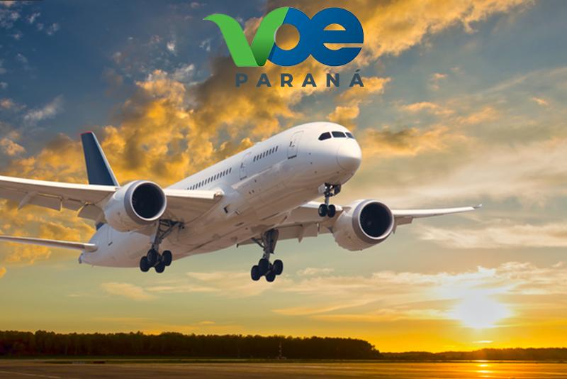 Programa Voe Paraná deve ser ampliado em breve