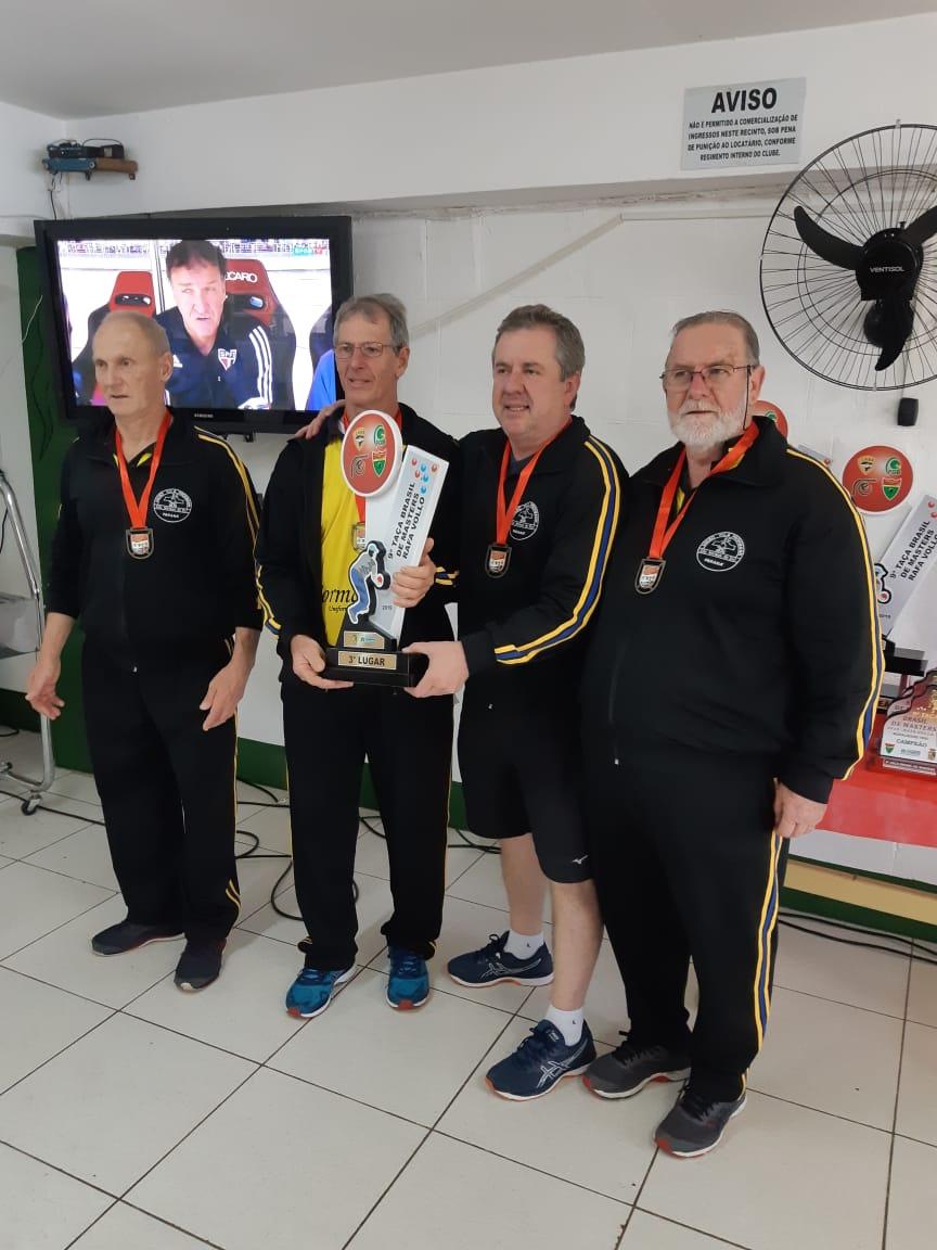 Bocha de São Mateus do Sul conquista 3º lugar em torneio com 30 equipes