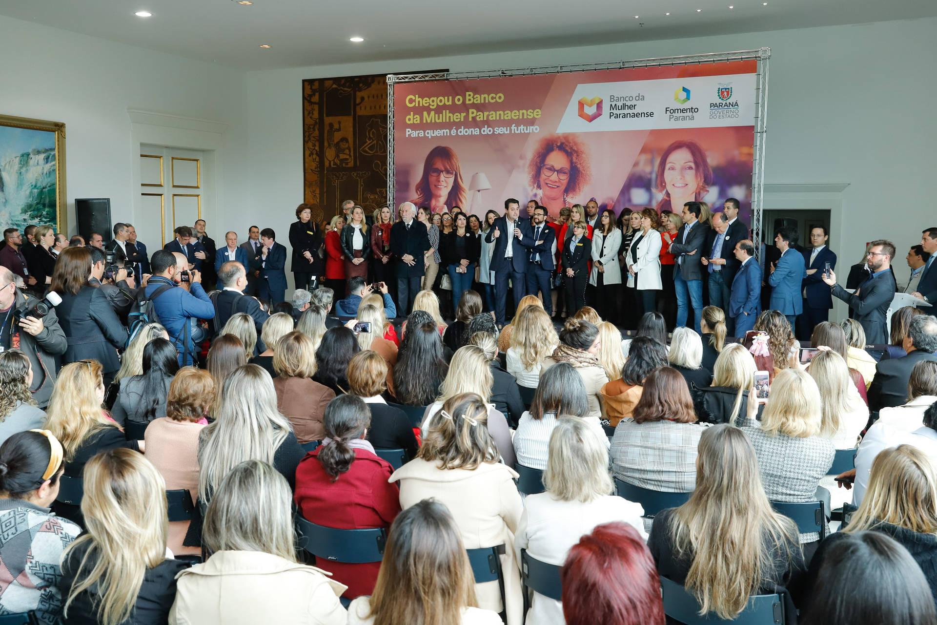 Banco da Mulher Paranaense vai incentivar o empreendedorismo feminino