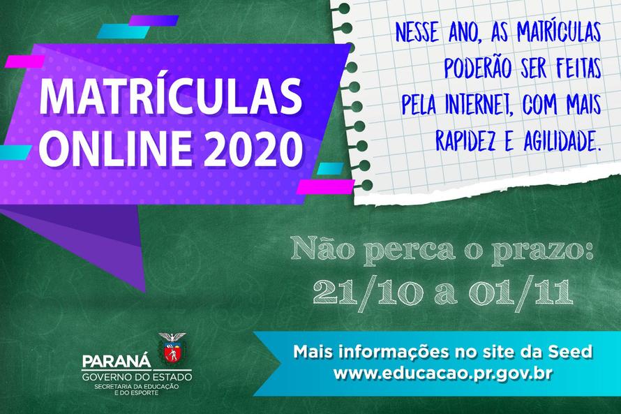Educação disponibiliza ferramenta online para matrículas