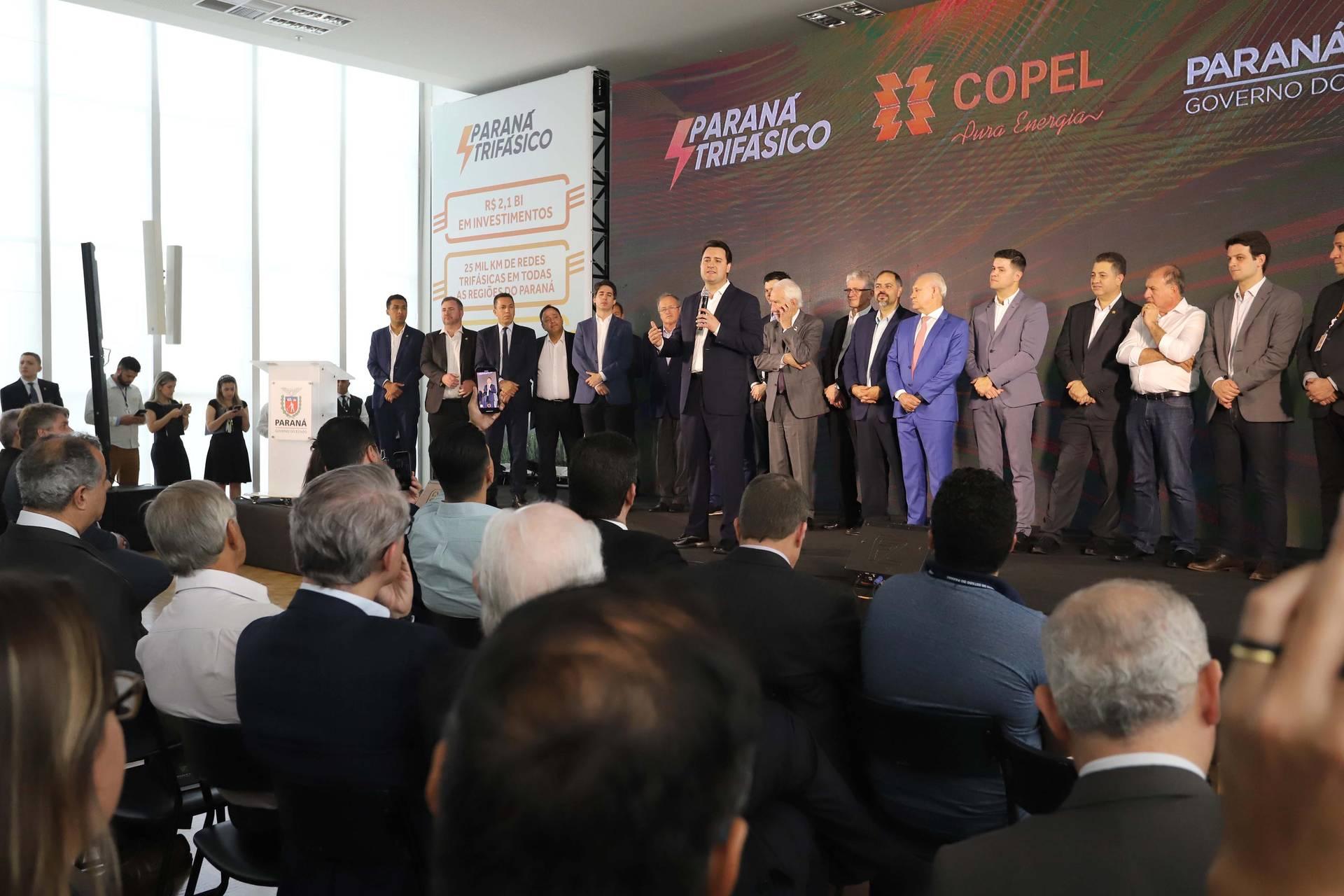 Bacil destaca investimento da Copel e presidente da empresa frisa foco em melhoria para o meio rural