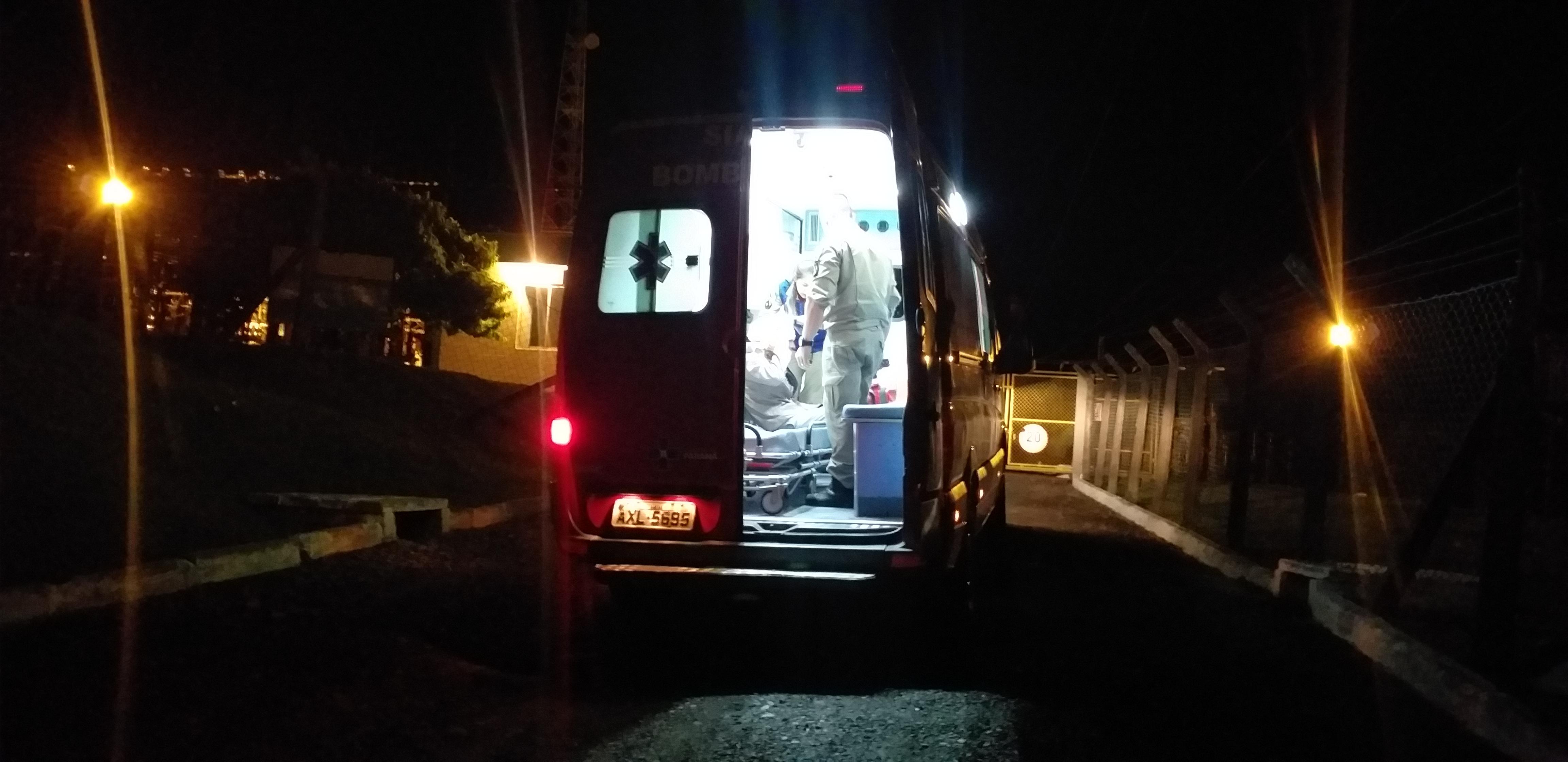 Bombeiros atendem ocorrências de acidentes de trânsito em São Mateus do Sul