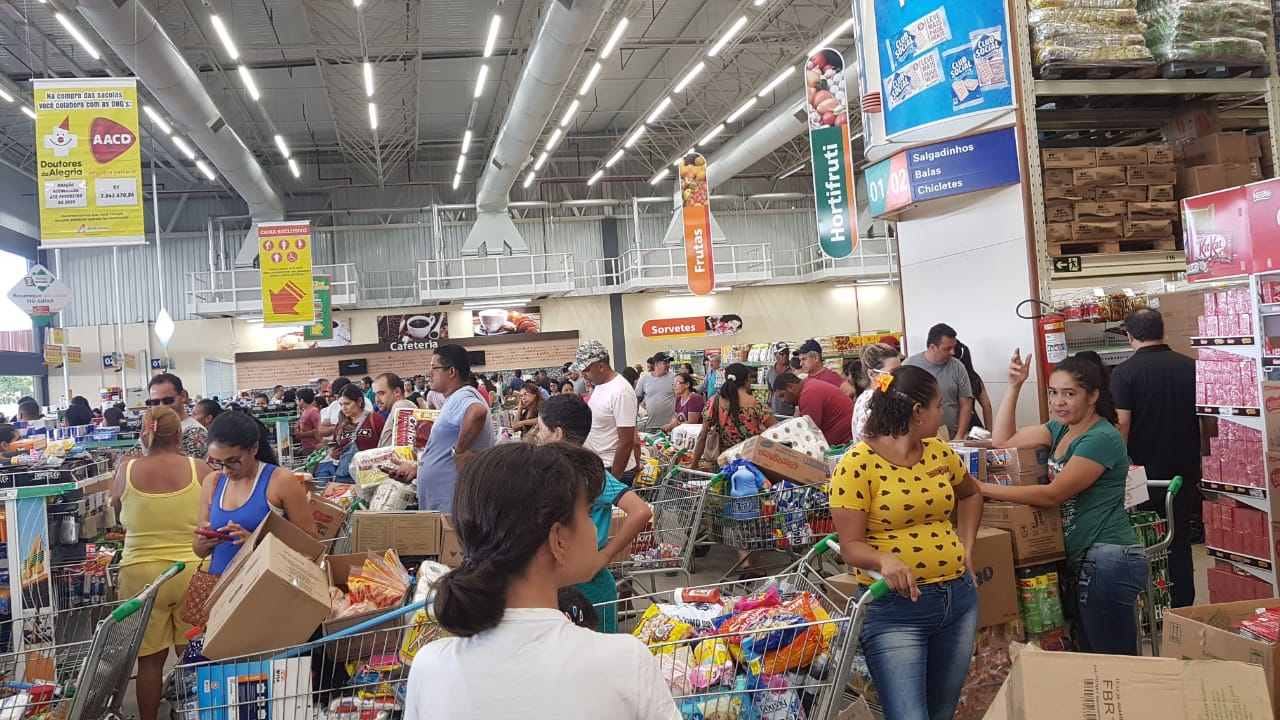 Cuidados a serem tomados depois de ir ao supermercado