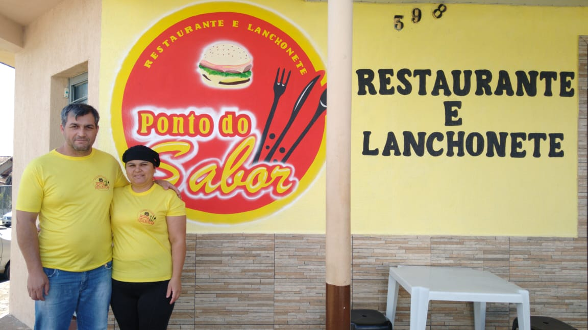 Restaurante e Lanchonete Ponto do Sabor, empresa são-mateuense
