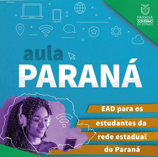 Paraná retoma ensino estadual, por meio de TV e internet