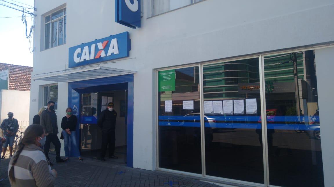 Agência da Caixa não abrirá neste sábado em São Mateus do Sul