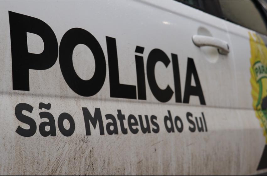 Principais ocorrências atendidas pela Polícia Militar de São Mateus do Sul