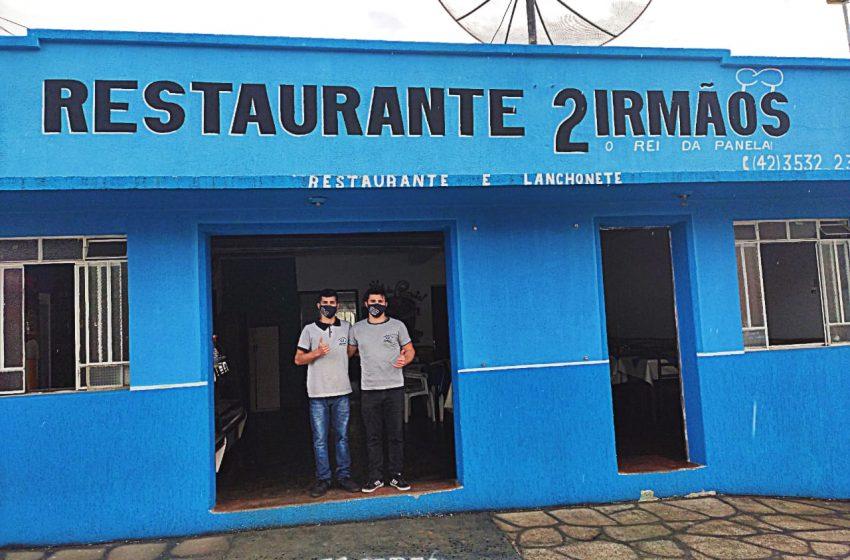 Negócio de família: restaurante 2 Irmãos serve qualidade aos clientes