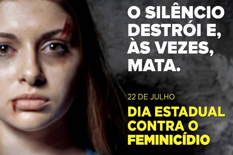 Governo reforça ações para lembrar Dia de Combate ao Feminicídio