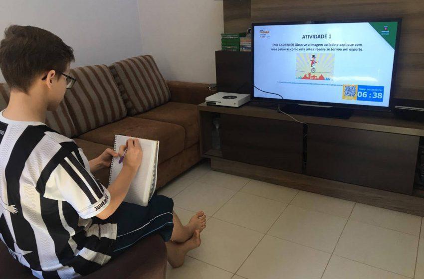 Ensino online do Paraná é o mais abrangente e chega a 99% dos alunos