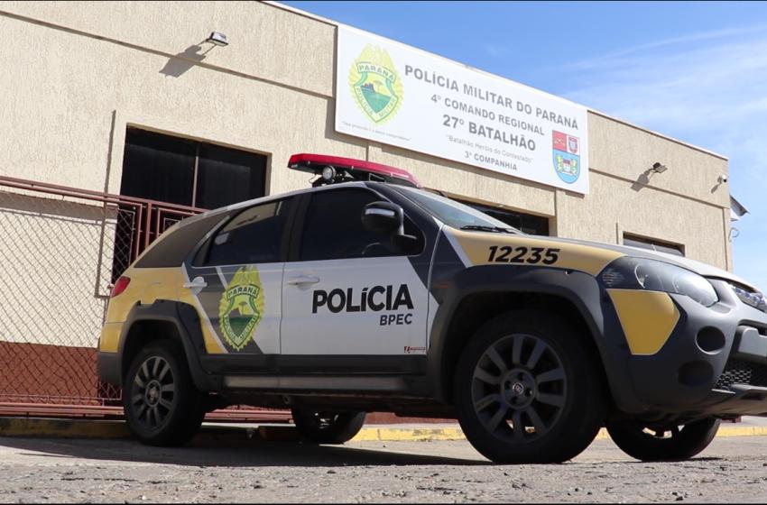 Destaques das ocorrências da Polícia Militar em São Mateus do Sul