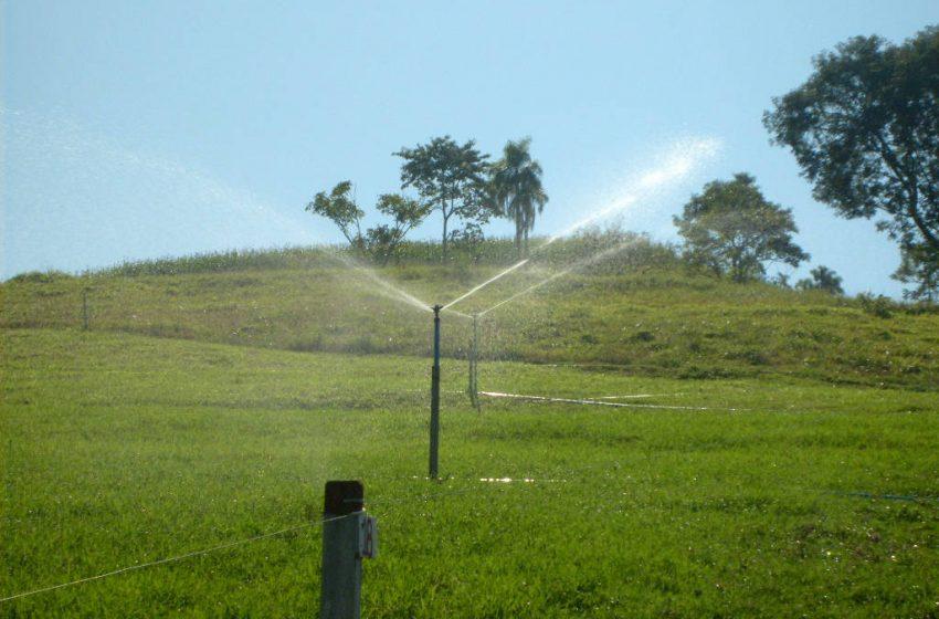Governo simplifica condições de uso da água na irrigação rural