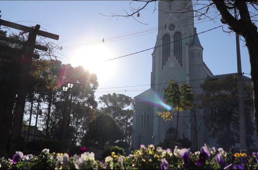 Primavera começa com tempo nublado e frio em São Mateus do Sul