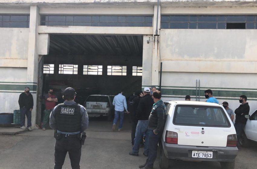Celular do prefeito de São Mateus do Sul estaria entre os apreendidos pelo Gaeco