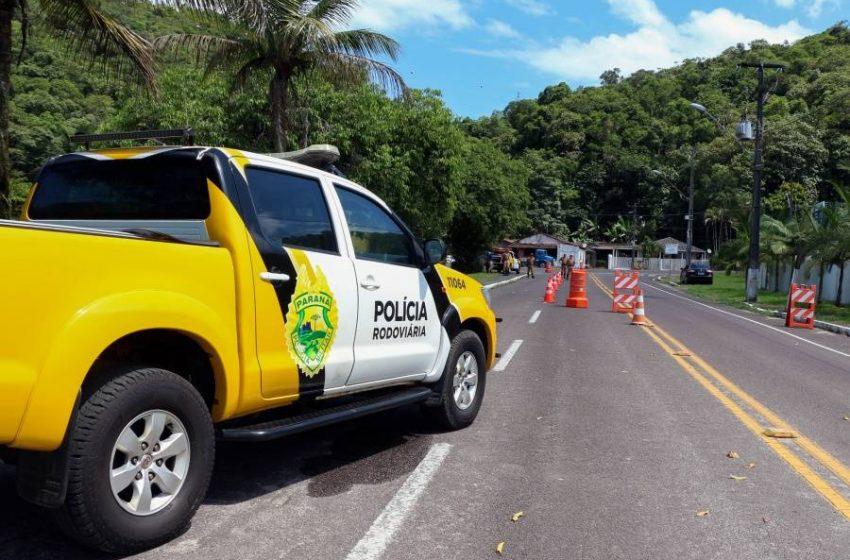 Policiamento é reforçado nas rodovias durante o feriado prolongado