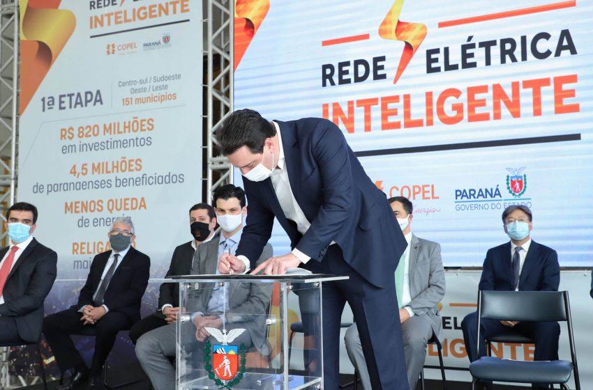 Paraná investe R$ 820 milhões para modernizar distribuição de energia