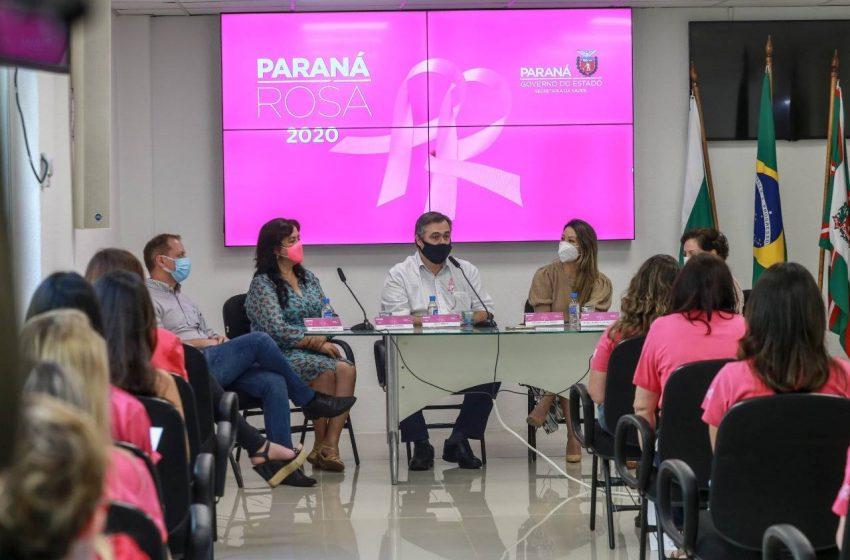 Paraná Rosa alerta sobre os cuidados com a saúde da mulher