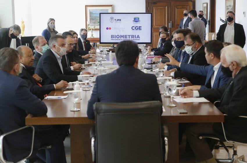 Em parceria com o Estado, cartórios paranaenses terão sistema de biometria