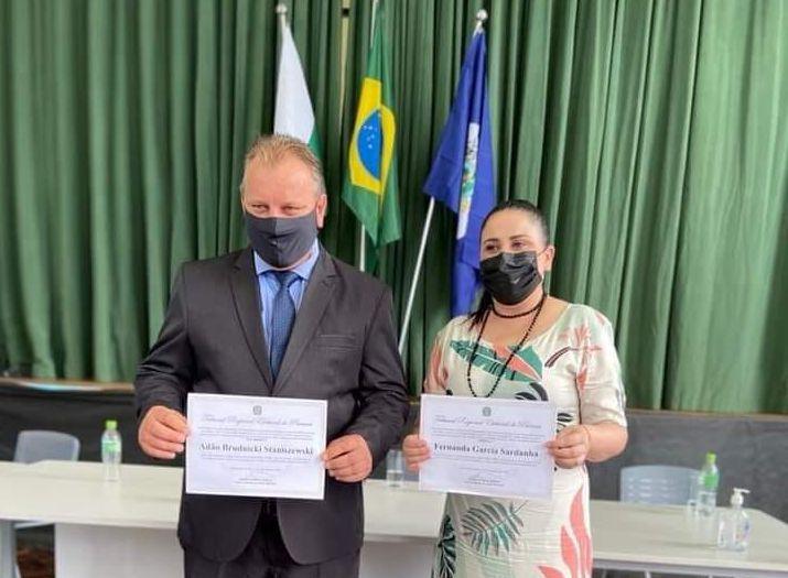 Fernanda Sardanha e Adão tomam posse do mandato nesta sexta-feira
