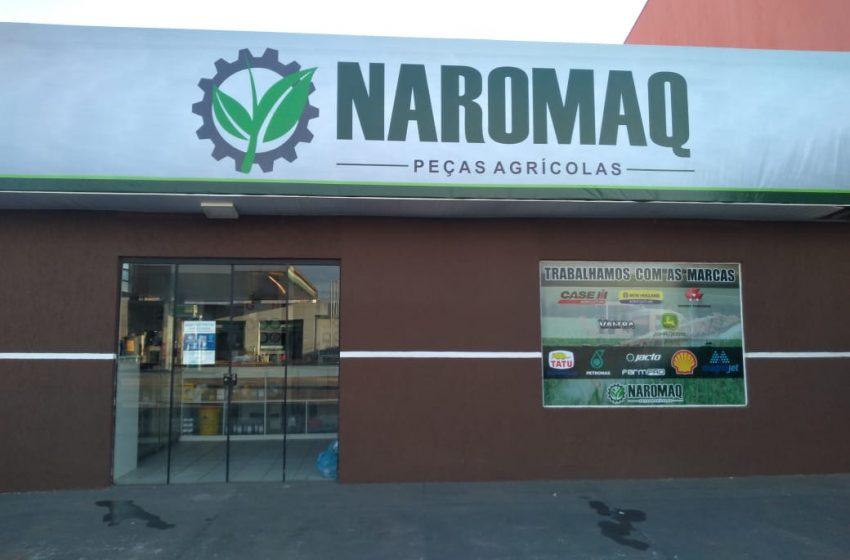 Naromaq Peças Agrícolas inaugura nova loja em São Mateus do Sul