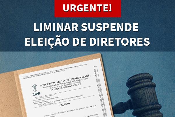 Eleições para diretores(as) das escolas estaduais são suspensas pela justiça