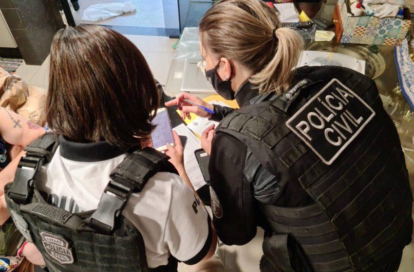 Polícia prende grupo envolvido com compra e venda de pontos em CNH