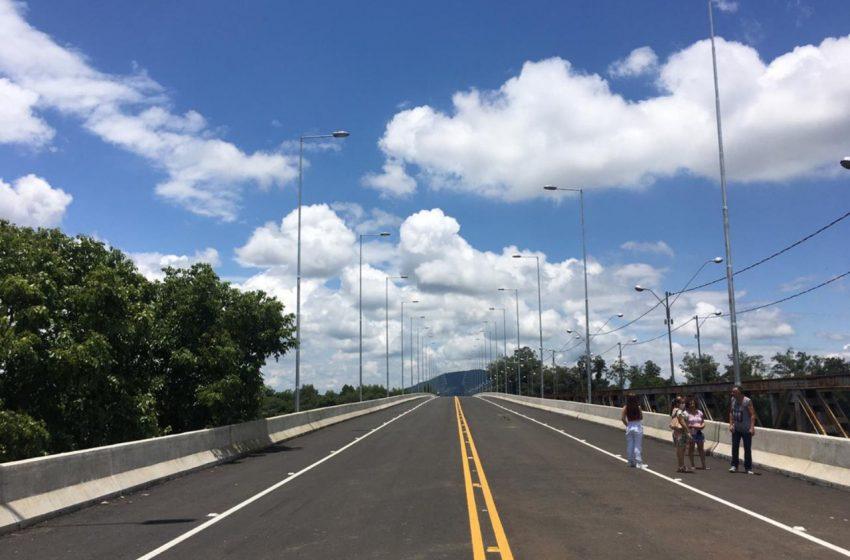Nova ponte é liberada para veículos em União da Vitória, pelo Estado