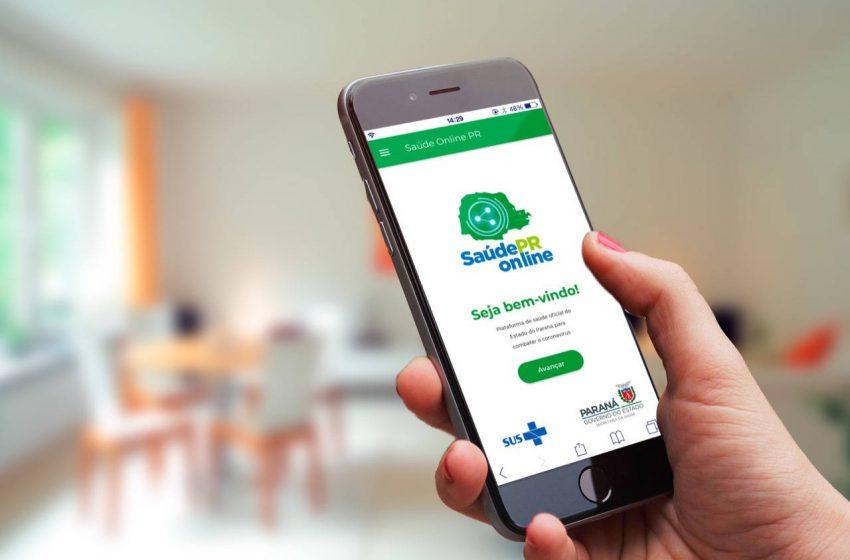 Governo amplia alcance do aplicativo Saúde Online Paraná