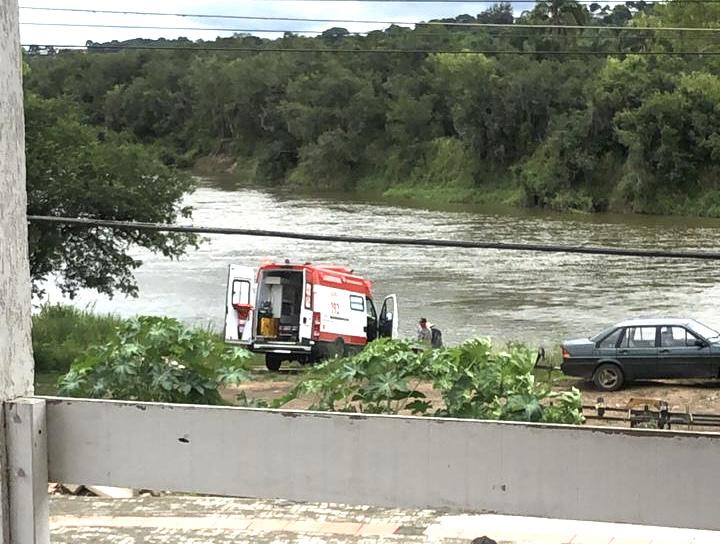 Homem é encontrado desacordado nas proximidades do Rio Iguaçu