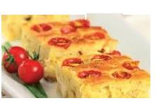 Receita torta de tomate cereja