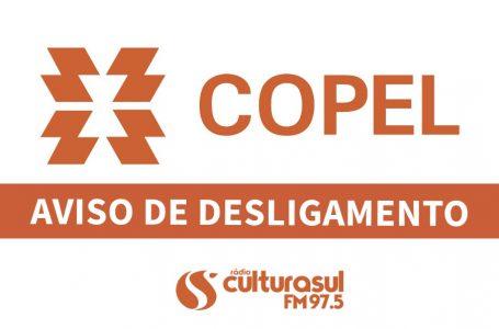 Desligamento programado Copel: em São Mateus do Sul nos dias 23,24,25 e 27 de Setembro