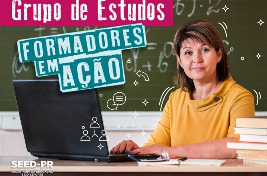 Educação abre inscrições para grupo de estudos Formadores em Ação