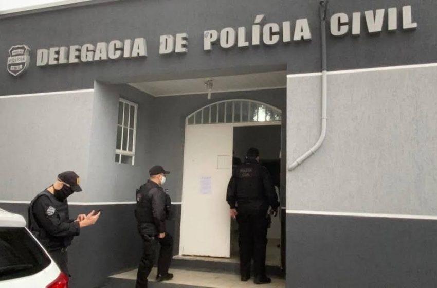 Homens que deixaram um morto dentro do cemitério foram presos pela Policia Civil de Imbituva
