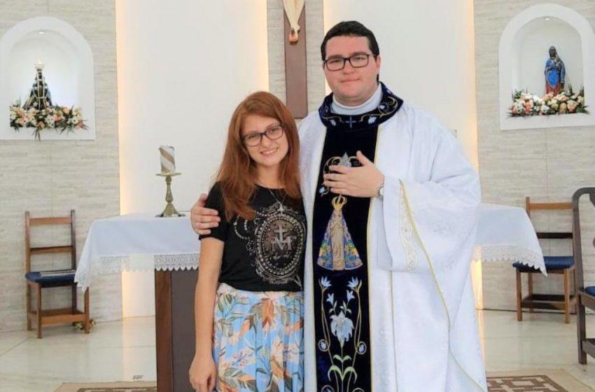 Jovem de São Mateus do Sul ingressará no Convento