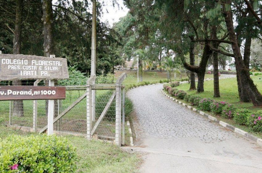 Vagas remanescentes para ano letivo de 2021 são ofertadas no Colégio Florestal de Irati