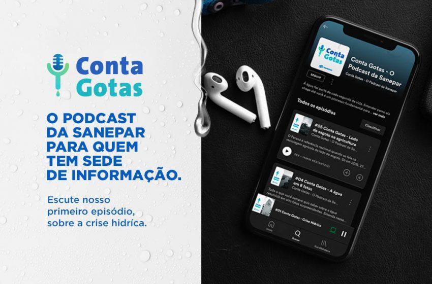 Sanepar lança sistema de podcast