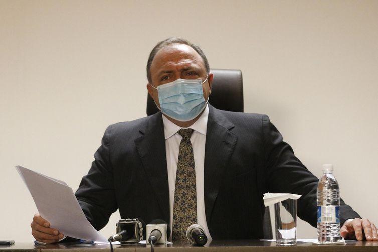 Vacinação contra covid-19 começa na quarta-feira, diz Ministro da Saúde